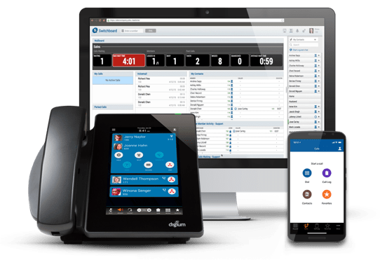 Digium's Switchvox UC solution helps businesses gain access to enterprise level phone features