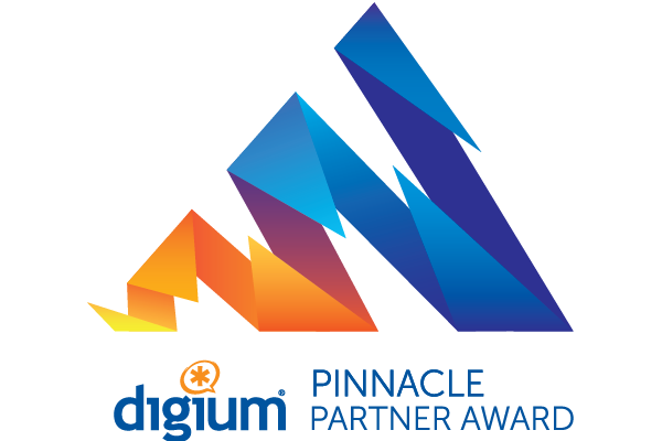 GoldenIS received Digium's Pinnacle Partner Award for exceptional customer support and leading sales